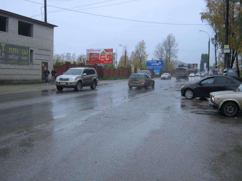 Казанское шоссе,  щит 5 около автосалона Порше, Ауди