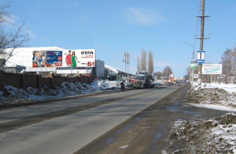 Казанское шоссе,  щит 2 около автосалона Порше, Ауди