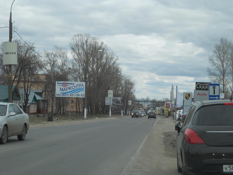 Казанское шоссе,  щит №1Б