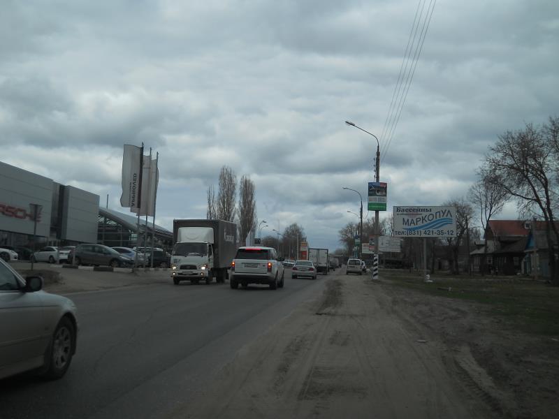 Казанское шоссе,  щит №1А