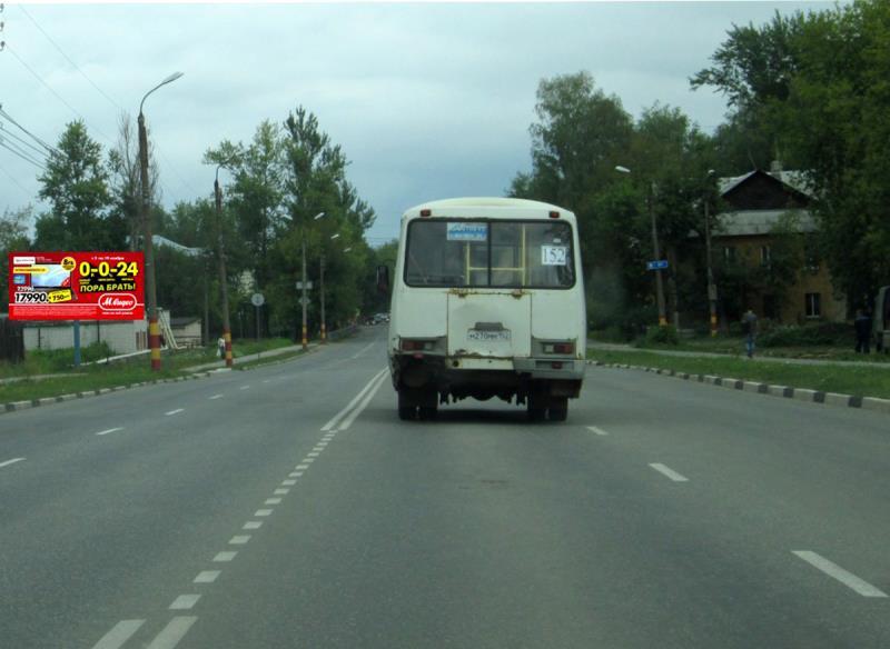 Кстово, ул. Зеленая, поворот на фильтровальную МУП  Водоканал Б